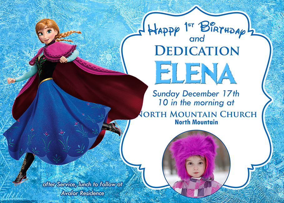 Free Frozen Invitation Template Dioskouri Designs