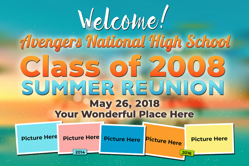 high school class reunion tarp