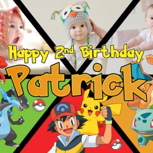 Free Pokemon Birthday Tarp Preview