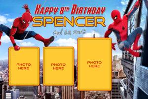 Free Spider-Man Birthday Tarp