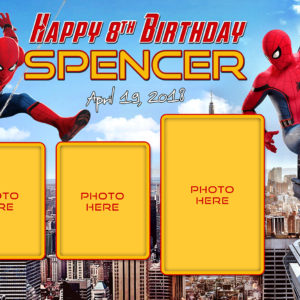 Free Spider-Man Birthday Tarp