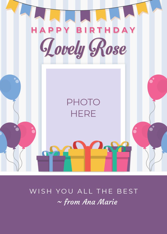 Birthday Greeting Card Design 2 Dioskouri Designs