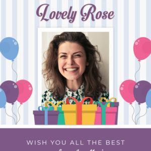 Birthday Greeting Card Design 2