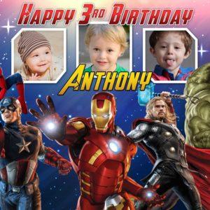 Avengers Birthday Tarp Template 2