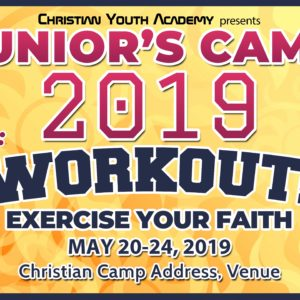 Free Christian Youth Summer Camp Tarp