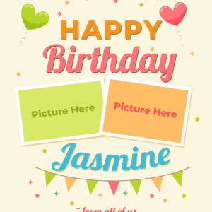 Free Online Birthday Greeting Design