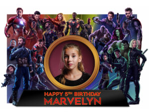 Free Avengers Infinity War Birthday Tarpaulin Preview 2