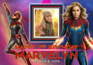 Avenger Captain Marvel Free Tarpaulin Preview