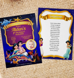 Free Disney Aladdin Birthday