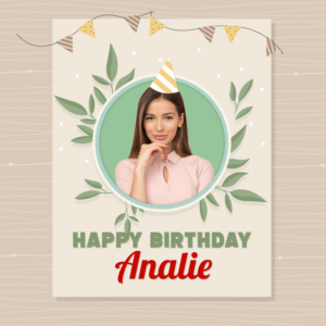 Facebook Birthday Greeting template
