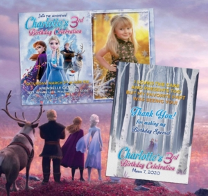 Free Frozen 2 Birthday Invitation Preview
