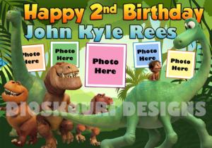 Free Dinosaur Birthday Tarpaulin